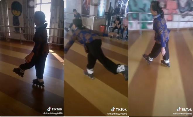 """Cụ bà trượt patin điệu nghệ: Giới trẻ cũng phải """"ngả mũ"""" thán phục nhưng vẫn có ý kiến trái chiều"""