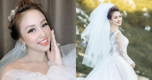 """Thanh Vân Hugo khoe nhan sắc hậu trường chụp ảnh cưới lộng lẫy, ngầm thông báo sắp lên xe hoa với """"bạn trai giấu mặt"""""""