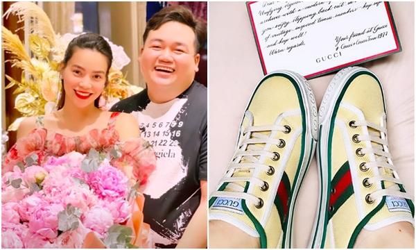 Giữa thông tin bầu bí, Hồ Ngọc Hà được Gucci tặng ngay một đôi giày bệt, phản ứng của chủ nhân tiết lộ ngay sự thật
