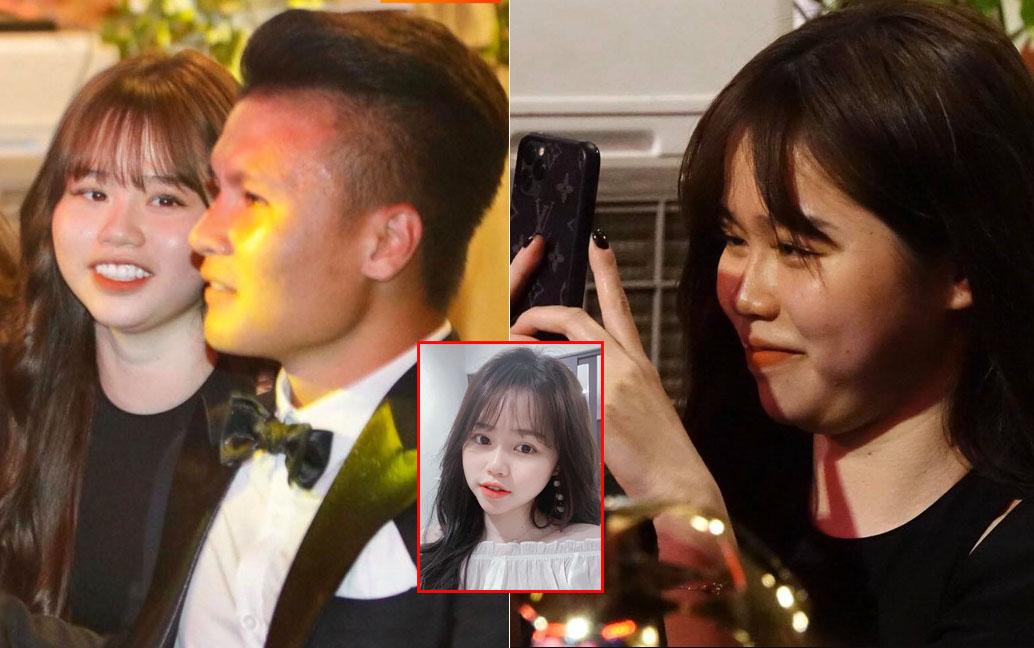 """Huỳnh Anh mang """"má bầu, cằm nọng"""" cùng Quang Hải dự gala Quả bóng vàng 2019, điều mà Nhật Lê chưa từng có được"""