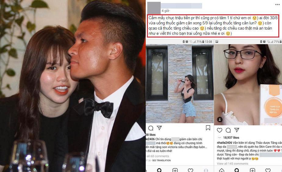 """Góc """"cà khịa"""": Huỳnh Anh hứa không Pr kem trộn làm ảnh hưởng đến hình ảnh Quang Hải như Nhật Lê từng làm"""