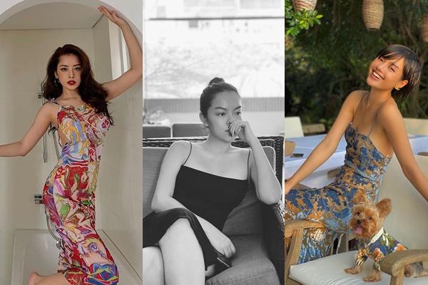 """Đầm dây mỏng thu hút từ """"Cô em Trendy"""" đến mẹ bỉm sữa Phạm Quỳnh Anh"""