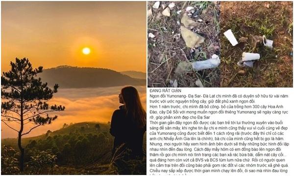 """Góc tiếc nuối: View """"săn mây"""" nổi tiếng nhất Đà Lạt thông báo đóng cửa vì bị khách du lịch xả rác bừa bãi"""