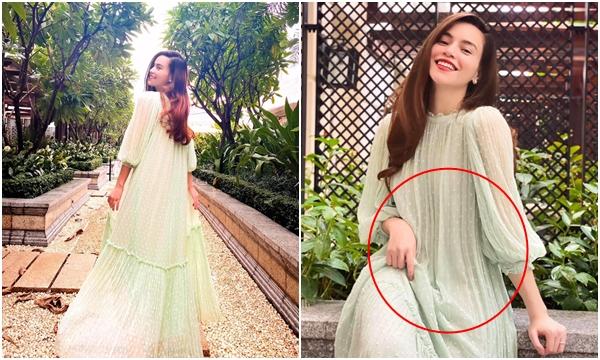 Hồ Ngọc Hà lần đầu khoe trọn dáng người sau tin mang bầu với Kim Lý, đặc điểm trên chiếc váy đã làm sáng tỏ tất cả