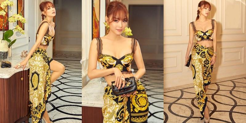 Cùng dùng khăn quấn làm quần áo: người xinh đẹp xuất sắc, người rườm rà lôi thôi