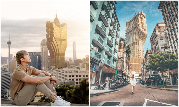 """Cận cảnh công trình để đời của """"ông trùm"""" Macau: Toà nhà hình búp sen vàng khổng lồ, hình check-in ngập tràn MXH"""
