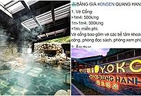 Khu suối khoáng Onsen đậm chất Nhật Bản ở Quảng Ninh vừa mở đã