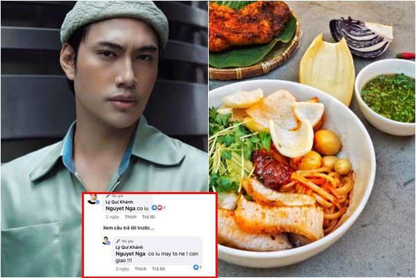 """Bán đồ ăn giá """"chát"""", doanh thu xuống dốc, Lý Quí Khánh phải tag hết bạn bè để mời gọi nhưng lại bị phũ"""