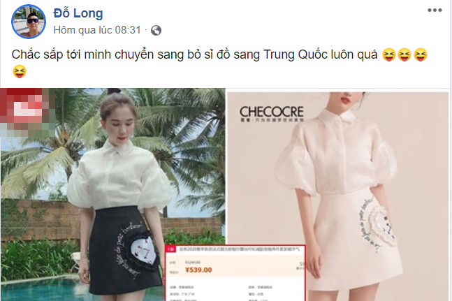 """Bị đạo nhái quá nhiều, NTK Đỗ Long quyết định sang Trung Quốc đổ """"sỉ"""""""