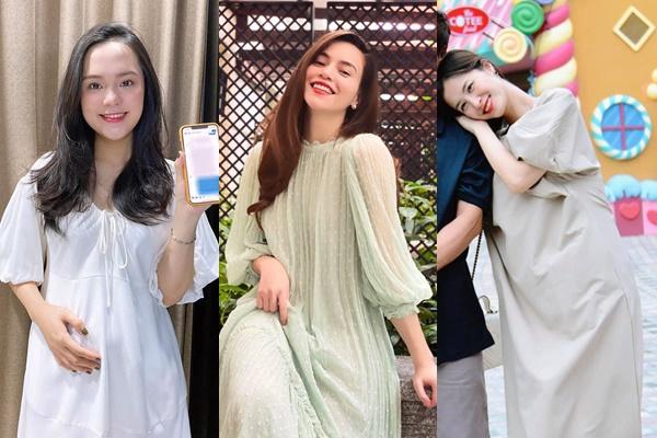 3 mẹ bầu Vbiz: chẳng cần váy áo lồng lộn cầu kỳ, cứ tối giản thế này mà vẫn xinh đẹp rạng ngời