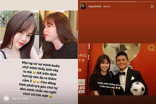 """Bị lôi vào """"cán cân"""" ảnh trên mạng - ảnh ngoài đời, bạn gái Quang Hải lên tiếng thanh minh, nghe cũng hợp lý đấy chứ!"""