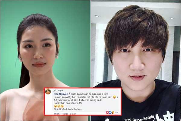 """Hòa Minzy bênh vực Mr.Siro trước cáo buộc hét giá bài hát và cố tình cover """"dìm"""" cô"""
