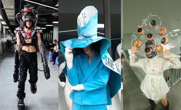 """Sinh viên ĐH Văn Lang khiến dân tình xuýt xoa với đồ án thiết kế thời trang theo chủ đề """"Đại dịch và sự sinh tồn"""""""