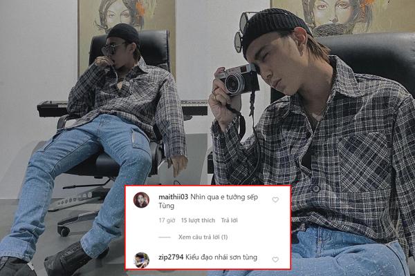 """Soobin Hoàng Sơn khoe ảnh mới trên Instagram, dân tình rôm rả: """"Hình bóng Sơn Tùng M-TP nhẹ nhàng vụt qua nơi đây"""""""