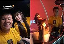 Một chiếc áo hai cuộc tình: Hóa ra chiếc áo đôi với Huỳnh Anh lại được Quang Hải mặc đi hẹn hò với Nhật Lê