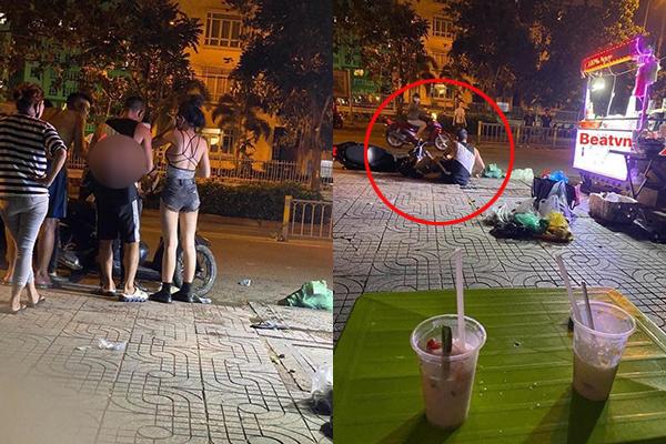 """""""Hotgirl thị phi"""" Ngân 98 và Lương Bằng Quang bất ngờ bị nhóm người """"quây"""" giữa đường để """"dạy dỗ"""""""