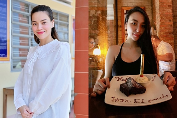 Cùng mang thai đôi: Hồ Ngọc Hà giản dị chuyển hẳn sang style rộng rãi, vợ Khắc Việt vẫn trung thành với style bó sát