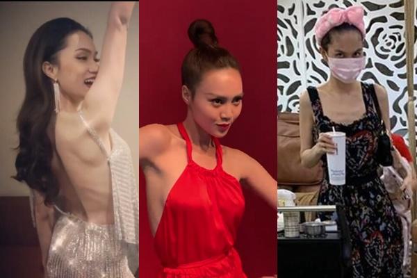 """Trên ảnh cân đối mảnh mai bao nhiêu, thì khi bị chụp lén loạt mỹ nhân Việt đều lộ thân hình như """"cái que"""""""