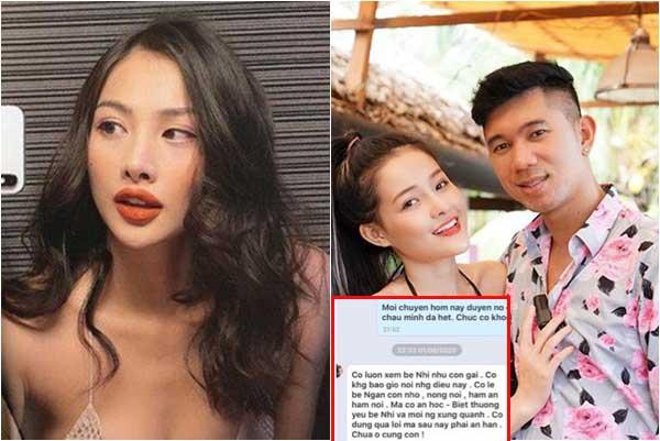 """Tình cũ Lương Bằng Quang đăng tin nhắn """"đối chất"""" với mẹ chồng hụt, tiết lộ bà chê Ngân 98 """"ham ăn, nông nổi"""""""