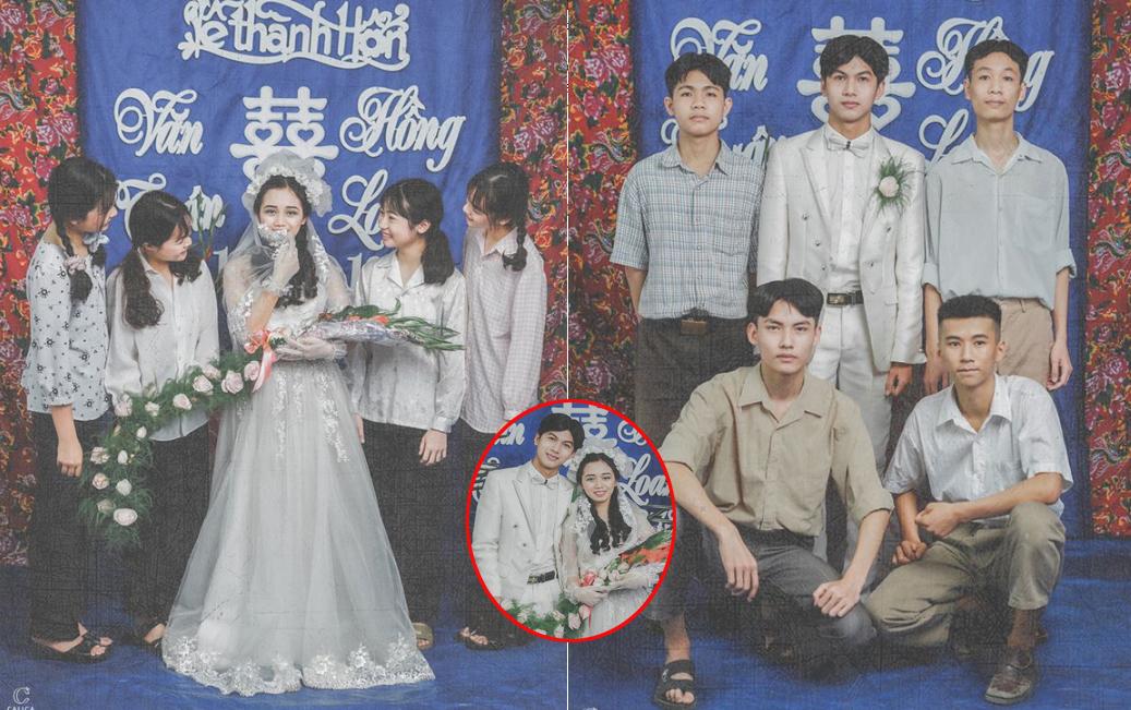 Chủ nhân bộ ảnh cưới thập niên 90: Phải mượn đồ của bà, mẹ, hàng xóm để mặc