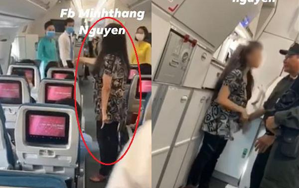 """Người kế bên xịt nước hoa khiến nữ hành khách gào thét trên máy bay: """"Tôi muốn ra Hà Nội, không thể chịu nổi nơi bẩn thỉu này"""""""