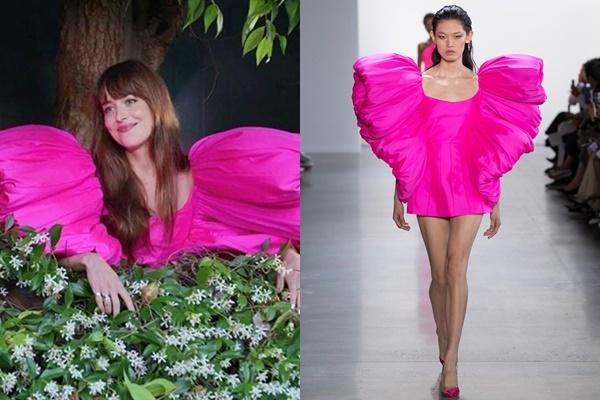 """Nữ chính """"50 sắc thái"""" xinh đẹp mỹ miều bất ngờ trong thiết kế của NTK Công Trí"""