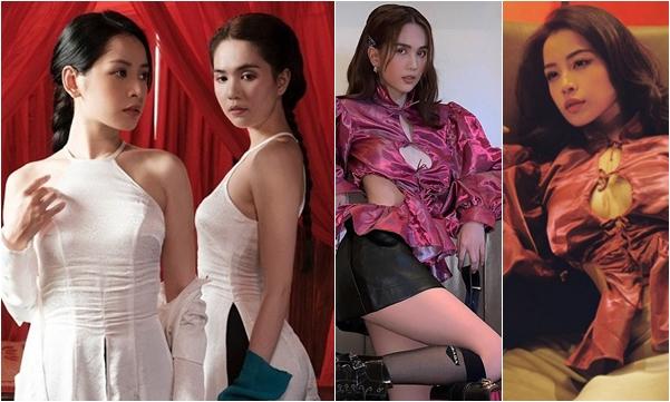 """Là """"tình địch"""" trong MV, ngoài đời Chi Pu - Ngọc Trinh cũng đụng độ ăn mặc """"chan chát"""" không kém"""