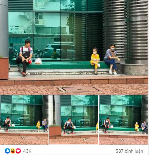 """Khoảnh khắc cô bé """"cà khịa"""" dáng ngồi của người lạ nhận """"bão"""" like, khiến bất cứ ai cũng phải thốt lên: """"Đáng yêu quá"""""""