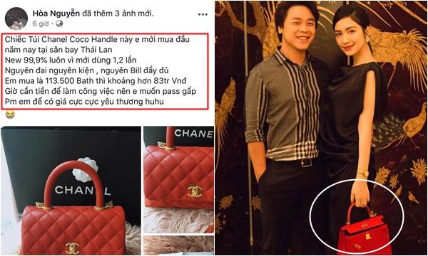 """Từng phải bán túi, bán nhà để làm MV, Hòa Minzy đã nhanh chóng """"gỡ gạc"""" bằng túi hiệu 350 triệu đồng"""