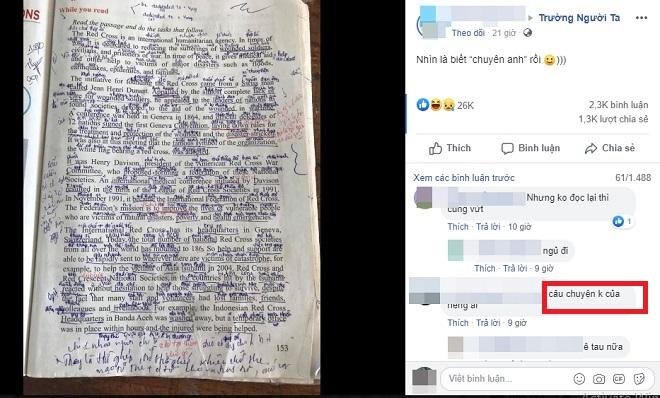 """Nhìn trang sách Tiếng Anh ghi kín nghĩa của từ, học sinh ngán ngẩm: """"Nhìn là biết chuyên Anh"""""""