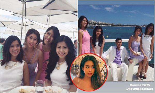 Tiên Nguyễn hiếm hoi đăng ảnh chụp cùng các chị gái ruột, nhan sắc của ai cũng bất ngờ