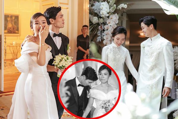 """Công Phượng tỏ tình Viên Minh trong buổi lễ đính hôn bí mật: Một lần nữa anh muốn nói với em là """"anh yêu em"""""""
