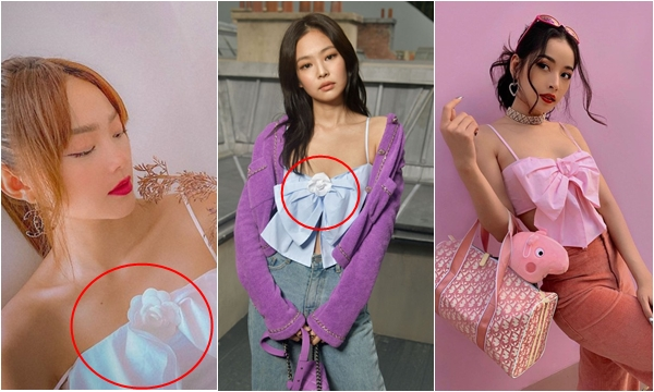 """Giàu có nhất nhì Vbiz, Minh Hằng lại bị nghi ngờ diện """"hàng nhái"""" mẫu áo Chanel hot hit của Jennie, Chi Pu và Ngọc Trinh"""