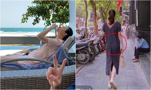 """Đăng ảnh chụp từ phía sau, dân mạng nhanh chóng """"soi"""" ra điểm chung giữa Đàm Thu Trang và Hồ Ngọc Hà hiện tại"""