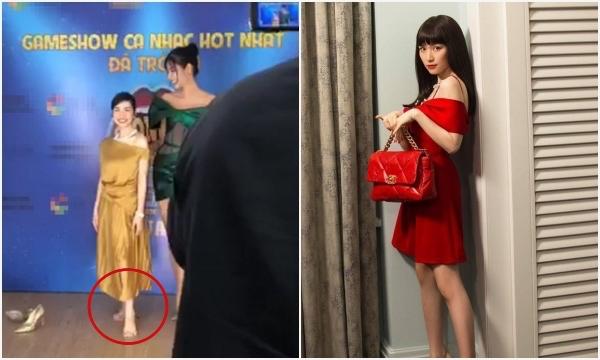 """Hoà Minzy lại hoá """"người tí hon"""" khi đứng cạnh Hoàng Thuỳ, đúng là: """"Sống có lúc, người có khúc"""" là có thật"""