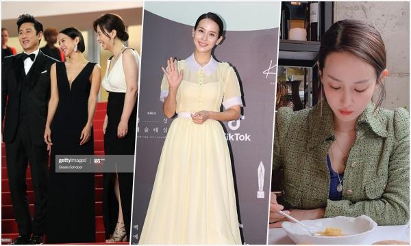 """Nữ chính """"Ký sinh trùng"""" bị chê ăn mặc chán đời tại """"Oscar của Hàn Quốc"""""""