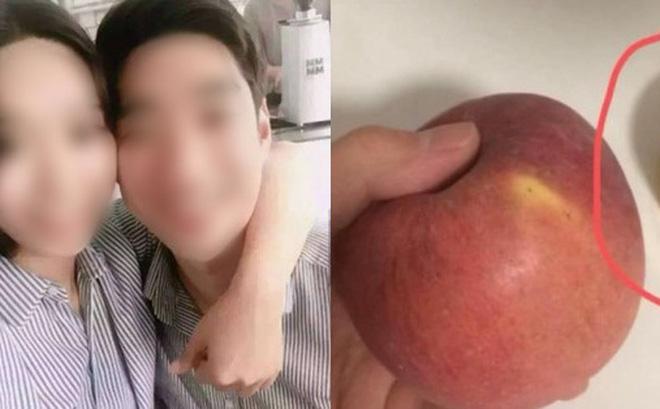 """Chụp bức ảnh ăn táo một mình, chàng trai không ngờ bị bạn gái """"soi"""" ra chi tiết của kẻ phản bội"""