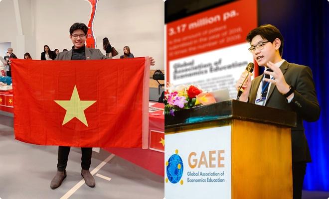 Nam du học sinh Việt từng nhận 21 lời mời từ các trường ĐH quốc tế, là ủy viên trẻ nhất Hiệp hội Hoàng gia RSA - Anh