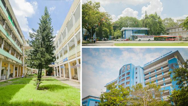 Khuôn viên ĐH Bách khoa TP HCM khiến dân tình mê mẩn với những hành cây xanh thắm tỏa bóng mát quanh năm