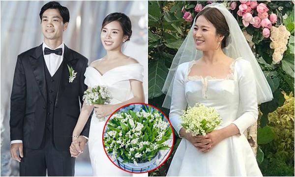 """Tưởng giản dị, hóa ra giá trị bó hoa cầm tay của vợ Công Phượng trong lễ đính hôn cũng đã cả """"chục triệu"""""""