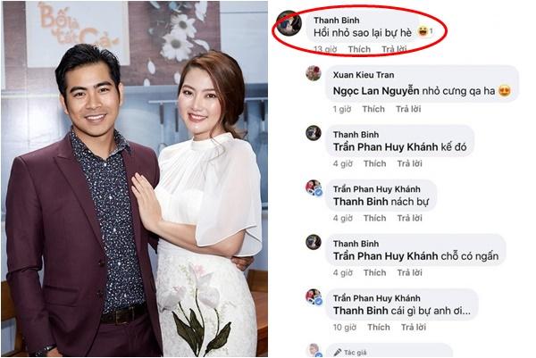 """Thanh Bình """"ghẹo"""" vợ cũ trên MXH, Lan Ngọc không ngại hỏi rõ từng li từng tí"""