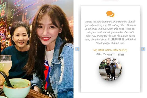 Mẹ ruột Hari Won bị lợi dụng hình ảnh, bịa đặt phát ngôn, con gái bức xúc lên tiếng
