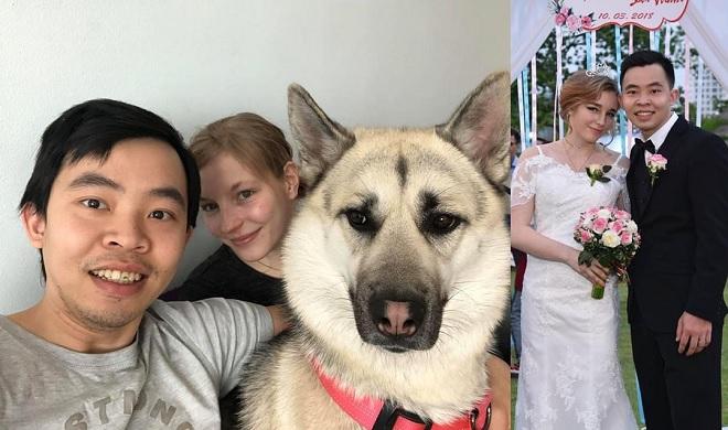 Chàng du học sinh Việt lên mạng tìm người nói chuyện cho vui, không ngờ cưới luôn được cô vợ Tây xinh xắn