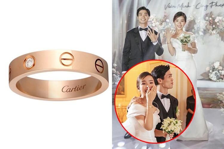 """""""Chơi lớn""""  như Công Phượng chi hơn 400 triệu đồng để mua nhẫn đính hôn và vòng tay tặng bạn gái"""