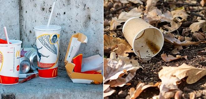 """Bao bì của McDonald's chiếm một nửa lượng rác thải nhựa ở Anh, Coca-Cola cũng """"đóng góp"""" 1/5 lượng hộp đựng đồ uống"""