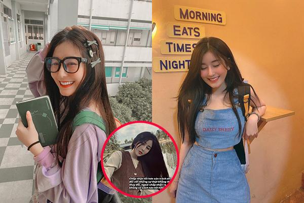 Dân tình không nhận ra gái xinh Võ Ngọc Trân khi cô khoe ảnh trên instagram, phải chăng là do photoshop vi diệu quá!