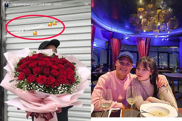 """Với Nhật Lê, Quang Hải tặng hoa để """"kết thúc"""" còn với Huỳnh Anh, Quang Hải tặng hoa để """"bắt đầu"""" chặng đường yêu"""