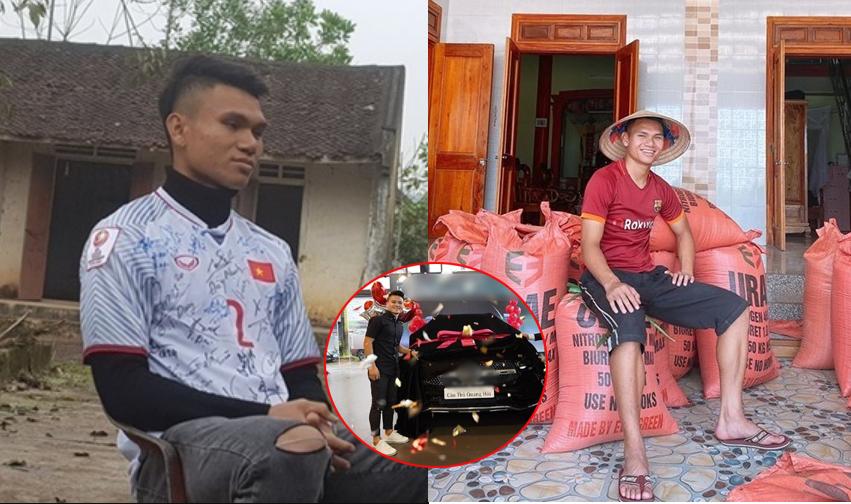 """Khi đồng đội """"tậu nhà, mua xe"""", Xuân Mạnh lại lẳng lặng đi thu lúa, nuôi cá kiếm thêm thu nhập giúp gia đình trả nợ"""