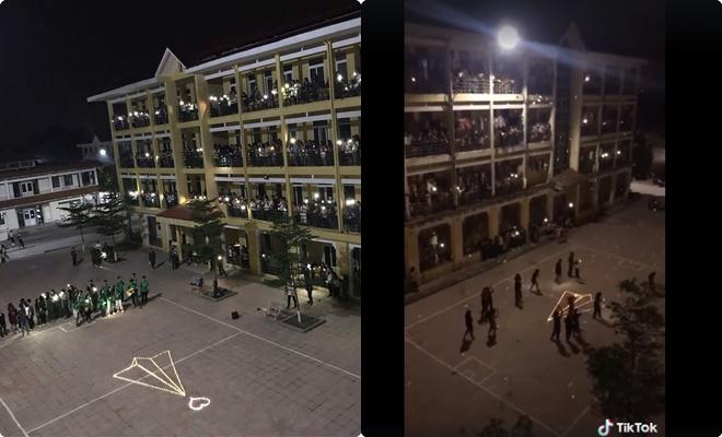 """Siêu lãng mạn """"lễ hội"""" thả máy bay giấy của sinh viên Ngoại thương tại khu huấn luyện quân sự Xuân Hòa"""