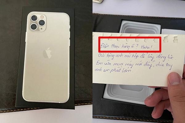 Người yêu cũ gửi tặng hộp quà xịn sò, anh chàng hí hửng mở ra thì nhận được dòng nhắn bất ngờ!